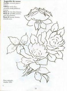Artes da Nil - Riscos e Rabiscos: As rosas...