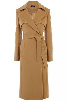 Buy Karen Millen Longline Trench Coat, Camel from our Women's Coats & Jackets range at John Lewis & Partners. Brown Trench Coat, Belted Coat, Camel Coat, Karen Millen, Look Fashion, Winter Fashion, Girl Fashion, Fashion Outfits, Coats For Women