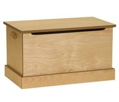 Amish Made Small Maple Toy Box