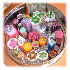 polymer clay how to store your clay millefiori canes polypediaonline