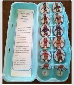 12 Apostles activity idea