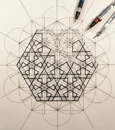 Gallery of This Architect Fuses Art and Science by Hand Illustrating the Golden Ratio - 1 #ArtandDesign