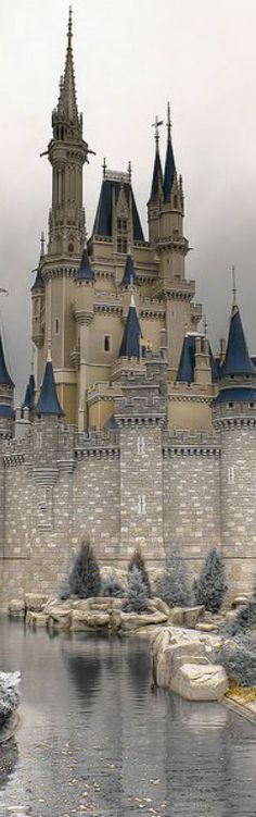 Drachenburg Castle in Königswinter, Germany. ***I honestly thought this was Cinderella's Castle Beautiful Fairies, Beautiful Castles, Beautiful Buildings, Beautiful Places, House Beautiful, Castle Ruins, Castle House, Medieval Castle, Places To Travel
