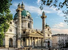 Vienna St Charles Church