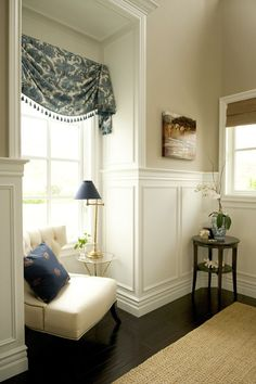 8 Sparkling Tips: Shiplap Wainscoting Kitchen wainscoting ideas mudroom.Wood Wainscoting Tips simple wainscoting window.Wainscoting Decor Board And Batten. Decor, White Wainscoting, Interior, Home, Wainscoting Bedroom, House Interior, Wainscoting Height, Interior Design, Dining Room Wainscoting