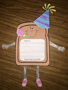 This is a simple writing craft that is perfect for your January bulletin board or a back to school activity to ease back in after Winter break. It comes with all the pieces shown in the preview plus an editable writing page that you can change as you do it each year.