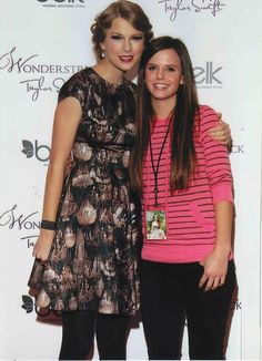 Tiffany Alvord AND Taylor Swift!!!