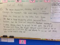 Writing about theme with text evidence.