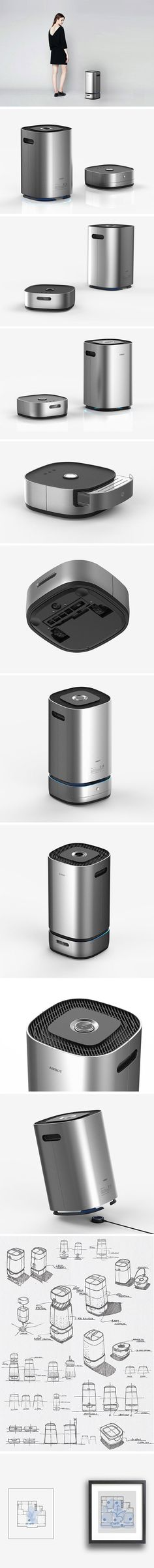 Robot vacuums have come a long way but the AIRBOT takes things to a whole new vertical… literally! The hybrid design includes an autonomous floor vacuum in addition to an air purifier. Since it will be scanning every inch of your apartment anyway, it only makes sense that the floor vacuum detects the indoor air quality from room to room. It's not only a more comprehensive indoor hygiene solution but an adorable tech team working in tandem!