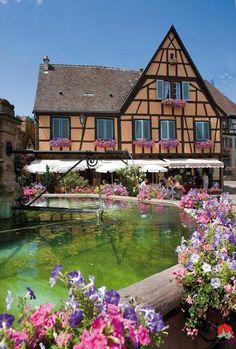 Eguisheim #Alsace #France #travel