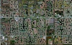 Empreendimento residencial - Boynton Beach, Florida, EUA. Cortesia de DigitalGlobe