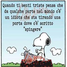 Snoopy: rimedio contro la tristezza