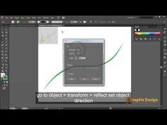How to make vector Swirls, Swooshes, Florals on adobe illustrator cs6