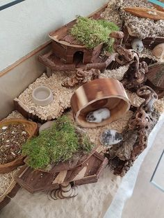 20 Easy & Cheap DIY Chicken Nesting Boxes - Pet cages in our homes, need to be . - 20 Easy & Cheap DIY Chicken Nesting Boxes – Pet cages in our homes, need to be organized and str - Dwarf Hamster Cages, Cool Hamster Cages, Gerbil Cages, Dog Cages, Diy Hamster House, Hamster Homes, Robo Dwarf Hamsters, Hamster Habitat, Hamster Care