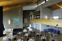 Vista General Lobby Hotel Design Calafate