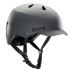 Bern Unlimited Watts EPS Summer Helmet, Matte Grey