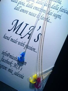 Collanina in argento CREA by MIA's. Made in Italy https://www.facebook.com/photo.php?fbid=461263097281096=a.308397852567622.69900.308281259245948=1
