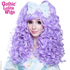 Gothic Lolita Wigs®  Baby Dollight™ Collection - Lavender Mix #lolita #wig #wig4wig #glw #gothcilolitawigs #pastelhair #curlyhair #princess #doll #dolly #livingdoll #lolitafashion #Jfashion #makeupartist #circlelenses #eyelashes #rockalash #dolluxe #lash #lashes #kawaii #cute #pretty #gyaru #mori #ulzzang #angelicpretty #babythestarshinebright