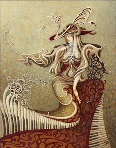Unicorn Dream | Boris Indrikov 1969 | Russian Magical Realism painter | Tutt'Art@ | Pittura * Scultura * Poesia * Musica |