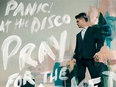 At the Disco Song Lyrics High Hopes - Panic! At the Disco video Panic! At the Disco Lyrics Panic! At the Disco Song Panic! At The Disco, Disco Cd, Panic At The Disco Lyrics, Brendon Urie, Music Album Covers, Music Albums, Green Day, Emo Bands, Music Bands