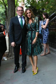 Sarah Jessica Parker's NYC Date Night With Matthew Broderick Will Make You Green With Envy