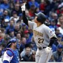 Pirates end Lester no-hit bid in 7th edge Cubs behind Cole (Yahoo Sports)