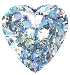 Water color diamond