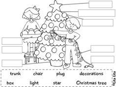 worksheet: Preschool Christmas Worksheets Printables