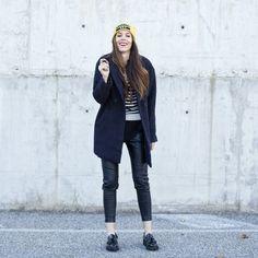 "Irene, from ""Ireneccloset"" wearing Promod coat."