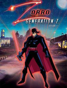 Watch Zorro: Generation Z online Zorro Movie, Movie Z, Hero Tv, Generation Z, Superhero Design, Animation Series, Zoro, Favorite Tv Shows, Darth Vader