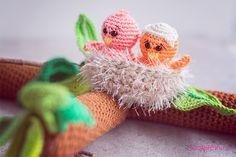 Lentetak met vogels haken | Wolplein blog | Bloglovin'