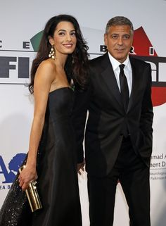 Clooney, who was married to actress Talia Balsam from 1989 to 1993, has famously said over the years that he'd never get married again . After first being spotted out with Alamuddin in late 2013, the pair got engaged this past April.