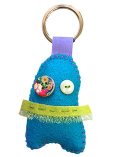 Buddo portachiavi #monster #ibuddidimatilde #keyrings