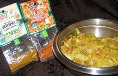 W Mojej Kuchni Lubię.. : smaczna kapusta młoda z Garam Masala i przyprawą Harrissa na pikantnie...