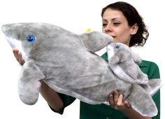 Big Plush Personalized Giant Teddy Bears and Custom Large Stuffed Animals - Large Stuffed Dolphin with Baby on Back 25 inches Long Soft Stuffed Animal, $37.11 (http://www.bigplush.com/large-stuffed-dolphin-with-baby-on-back-25-inches-long-soft-stuffed-animal/)