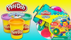 www.youtube.com/user/disneytoybox?sub_confirmation=1 Play Doh Sweet Shoppe Candy Jar. With this Playdoh playset you can create all the pretend sweet treats you can imagine! #toys #playdoh #playdough #Play-doh
