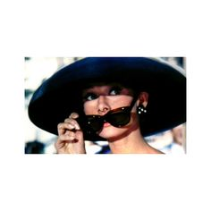 My favourite film Breakfast at Tiffany's Film ❤ liked on Polyvore featuring home, home decor, photos, pictures, people, audrey, audrey hepburn and red home decor