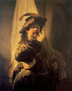 Rembrandt van Rijn (1606-1669) - 1636 The Standard Bearer (Private Collection)