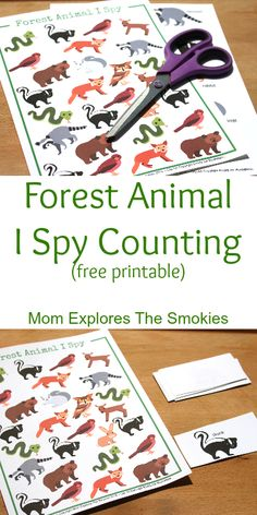 A fun kids' learning activity that builds counting and literacy skills.