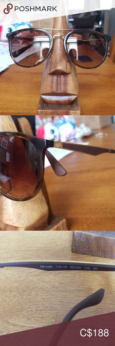 Shop Women's Ray-Ban Brown Gold size Sunglasses at a discounted price at Poshmark. Sunglasses Accessories, Women Accessories, Ray Ban Sunglasses, Ray Bans, Closet, Things To Sell, Ray Ban Glasses, Armoire, Women's Accessories