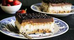 Τσιζκεικ με την πιο Τέλεια Κρέμα με Ζαχαρούχο Γάλα | womanoclock.gr Sweets Recipes, Desserts, Confectionery, Tiramisu, Cheesecake, Cooking, Ethnic Recipes, Food, Pavlova