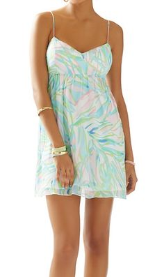 Lilly Pulitzer Dorothy Dress in Salute- love the dainty cut-out back