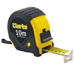 Tape Measure. Preferably 10m and Stanley
