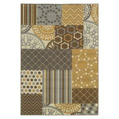 would really like this area rug to pull in our brown, blue, and grey walls ideal for the living room
