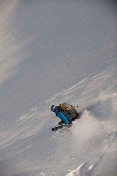 Marco Sullivan skiing.
