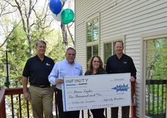 Enter Infinity's $20,000 Product Giveaway for your chance to win product from Infinity by Marvin's complete line of replacement windows and patio doors.
