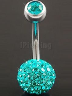 Ive been wanting a new belly button ring this color :)