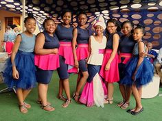 #sepedi #traditionalweddingvibes #shibuandphumswed #bridesmaids 💕💙 African Wedding Cakes, African Weddings, African Traditions, Traditional Wedding Cake, African Fashion, African Outfits, Wedding Bride, Wedding Ideas, Bridesmaids
