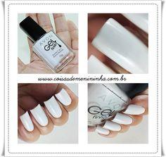 Esmalte Branco Absoluto da AVON - Linha Gel Finish. O Branco Perfeito! Vem ver a Resenha no Blog Coisas de Menininha e deixar a sua impressão!