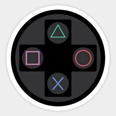 Shop PlayStation controller playstation stickers designed by as well as other playstation merchandise at TeePublic. Cd Wall Art, Cd Art, Wall Collage, Video Game Symbols, Playstation Cake, Xbox Party, Homemade Stickers, Tumblr Stickers, Gaming Wallpapers